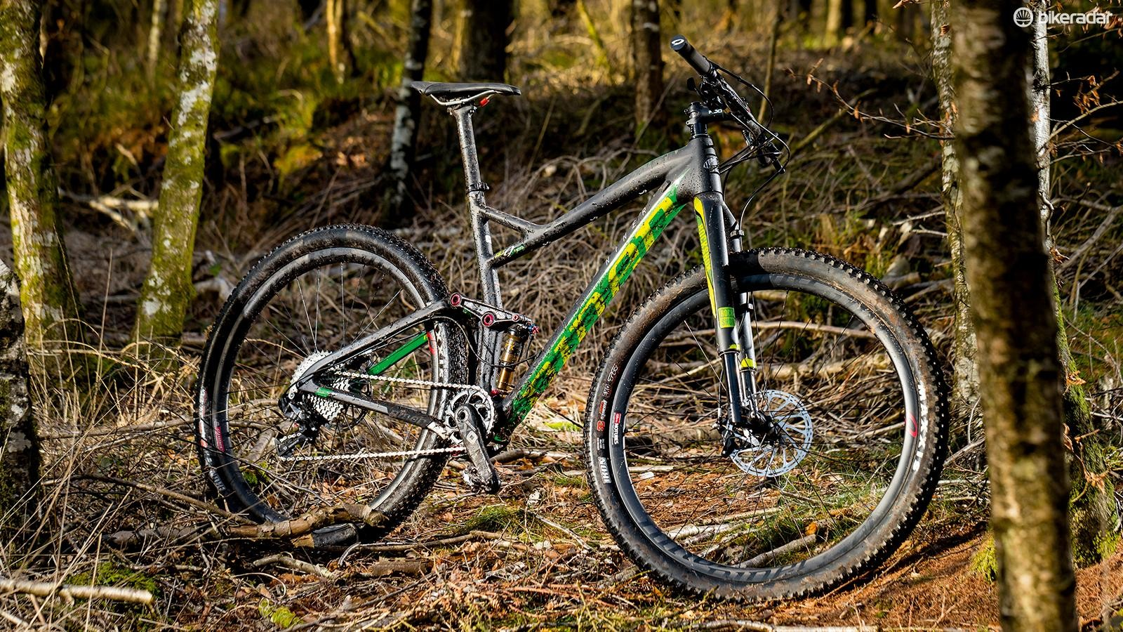 Niner's RKT 9 RDO 4-Star X01 is an addictive speed machine