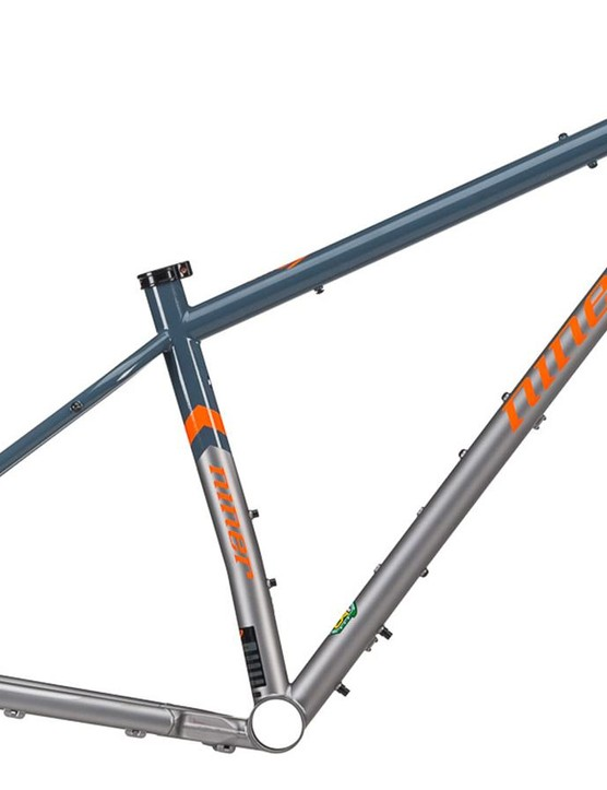 The SIR 9 is available as a complete bike or as a frame