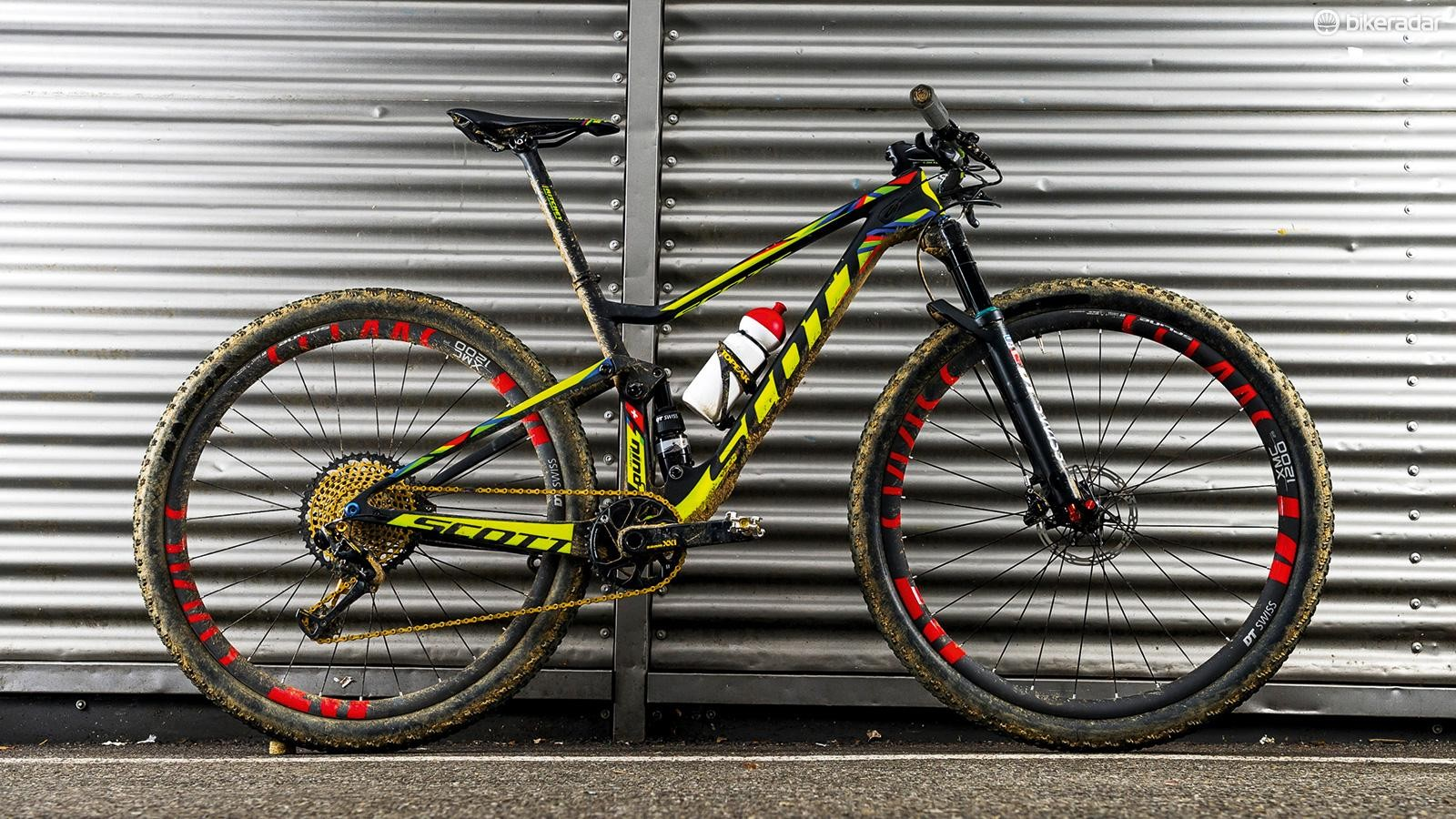 Nino Schurter's Scott Spark RC 900