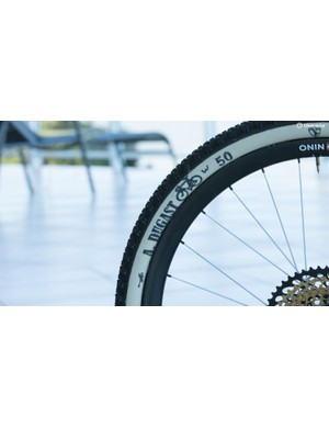 Dugast provides the tubular tires, although those 27.5in DT Swiss carbon tubular rims may present a larger issue in sourcing for your replica Nino bike