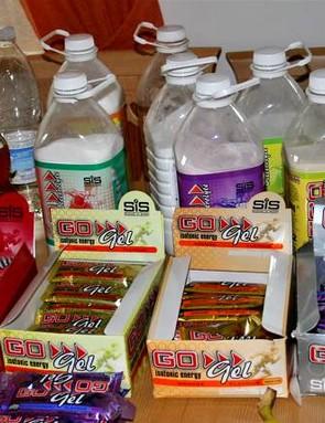Team GB Tuck shop (no Mars bars?!)