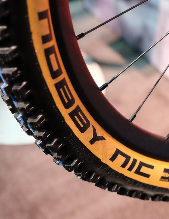 Skinwall mountain bike tires are rolling forward for 2018