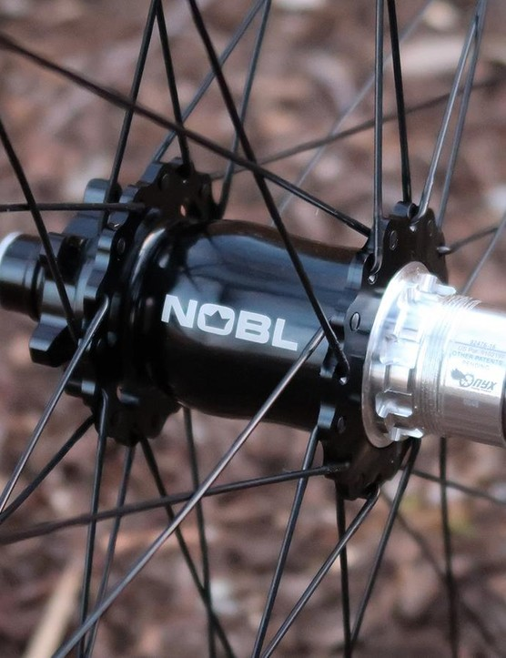 NOBL builds around Onyx Racing hubs, as well as Hope and Industry Nine