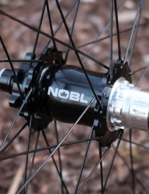 NOBL's TR33 wheelset is laced to the instantly-quick Onyx hub