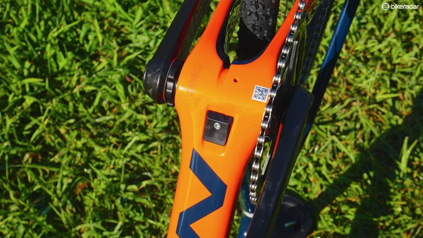 Norco leverages identical internal routing frame mounts throughout the bike