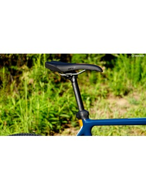 Norco spec a two-bolt carbon post, with a frame clamp that has a few tricks up its sleeve
