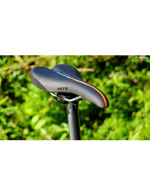 With a flat seating area and a cutout, WTB Volt saddles are a favorite for off-road riding