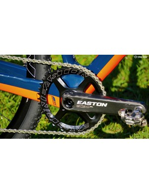 Once again, no expense spared on the Easton EC90SL CINCH carbon crank