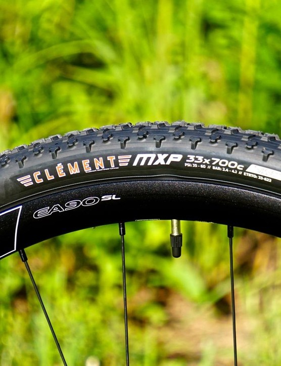Nothing says 'cross like a nice pair of Clement tires