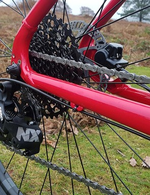Intuitive shifting from the SRAM NX groupset is great to see at this price