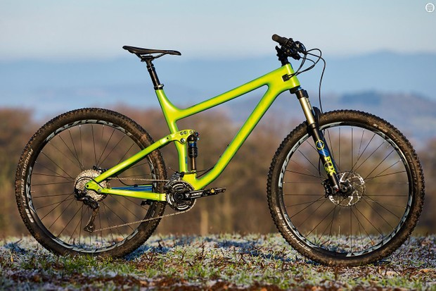 Norco's four-bar A.R.T. suspension design delivers supple bump compliance and support