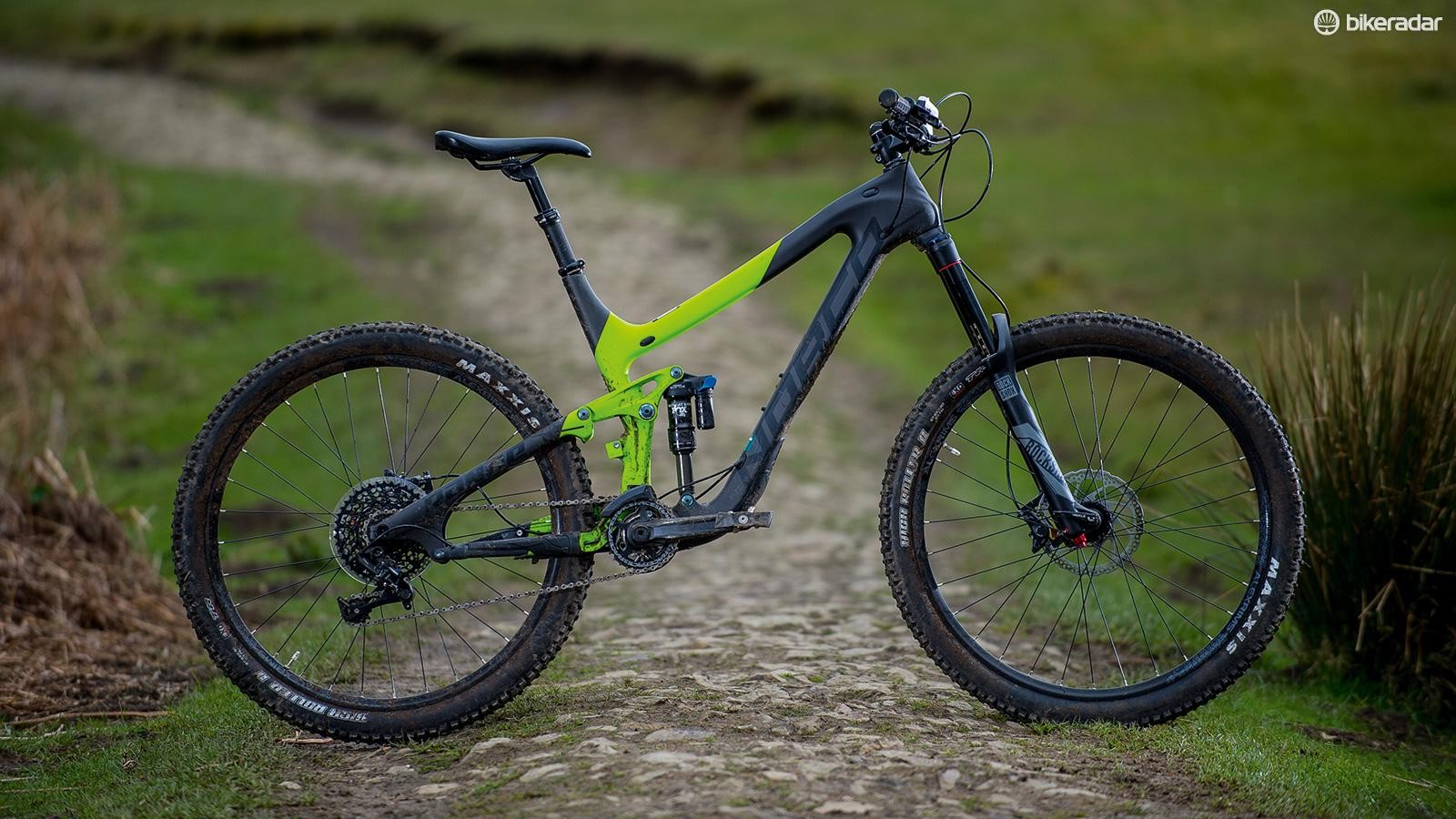 Norco's Range C7.3 is built for solidity –and that's a fair description of its nature too
