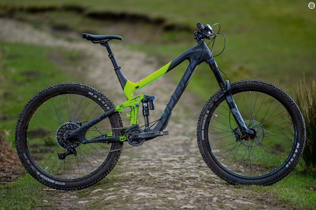 Norco's Range C7.3 is built for solidity – and that's a fair description of its nature too