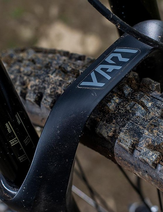 RockShox's Yari is a solid fork but it can't compete with the extra sophistication of the Charger damper in the Pike and Lyrik when things get hectic