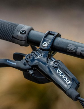 SRAM's Guide R brakes lack a touch of bite but are consistent performers