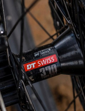 DT Swiss provides the 370 rear hub