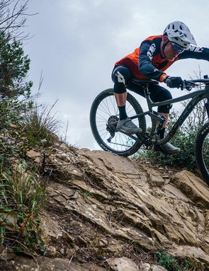 Steep, technical, rough — the Norco loves it