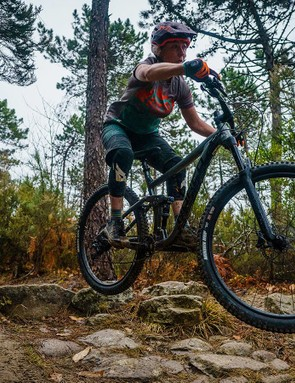 The confidence-inspiring suspension lets you hang loose
