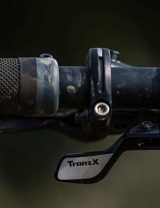 The Trans X dropper was the only weak link