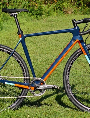 Norco's Threshold C Force 1 is a race-ready CX machine with a stealthy system for adding fenders