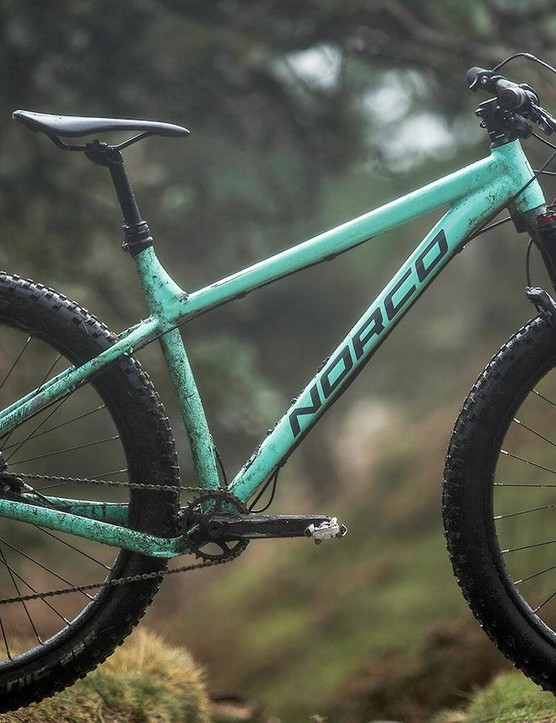 Norco's Torrent 7.1 is a grin-inducing steamroller of a bike