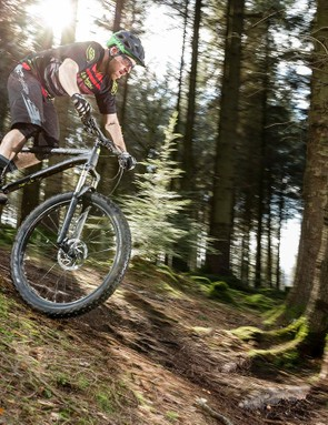 The Torrent was a gleeful companion when things headed downhill –even with a knackered fork