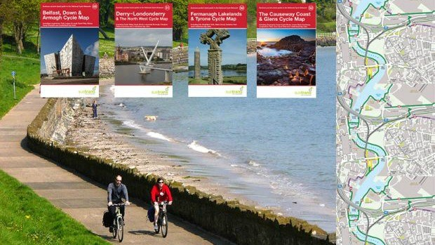 Sustrans just completed its map series for the UK