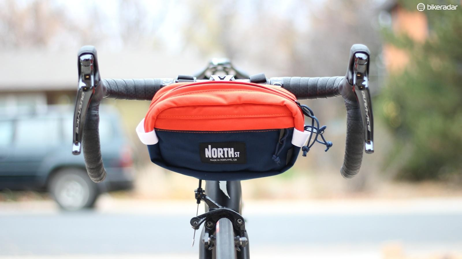 North St makes handlebar bags to order in Portland, Oregon