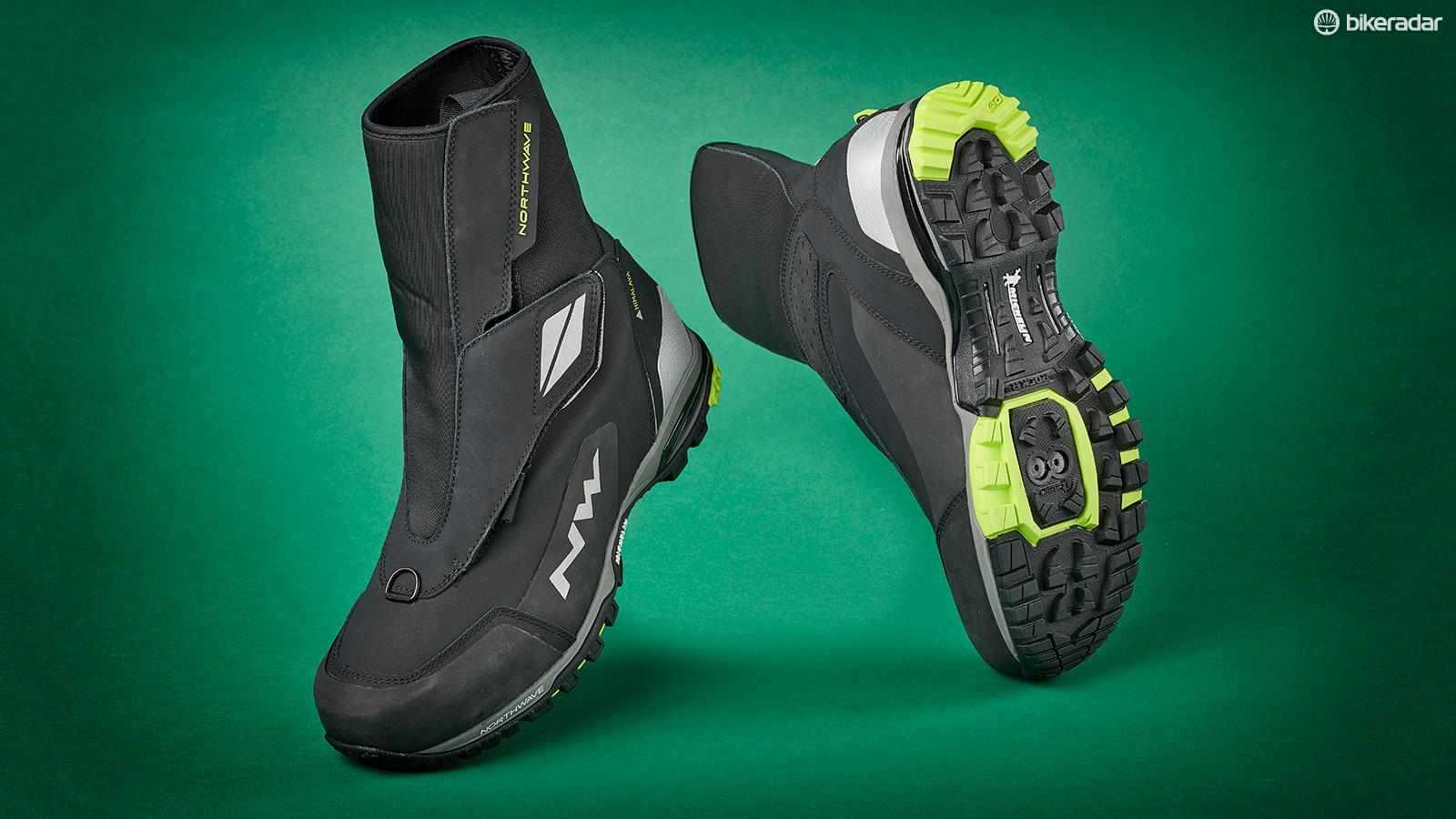 The Himalayas not only keep your feet dry and warm they also give extreme protection