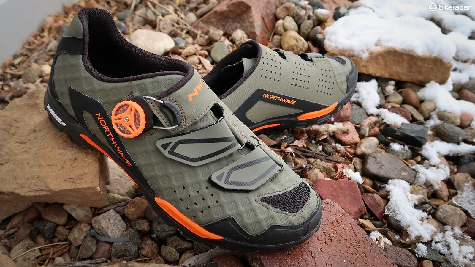 Northwave's Outcross Plus is a trail-oriented mountain shoe