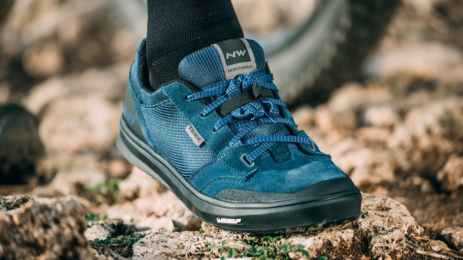 Northwave introduces flat shoes to its range, this is the 'Tribe'