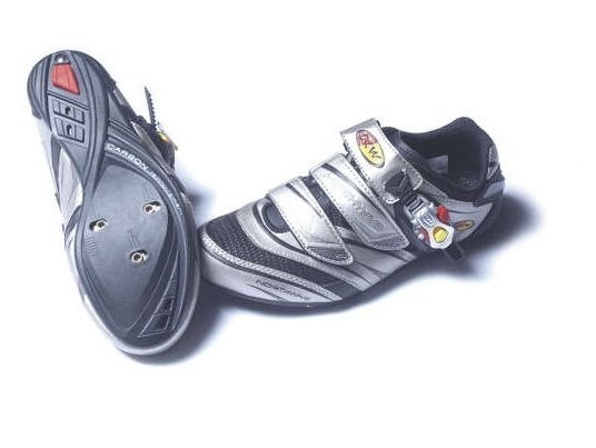 The sole of the Vertigo is reinforced with carbon.