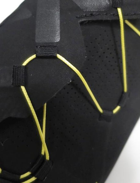 The Dyneema cord has the strength of steel but far more flexibility
