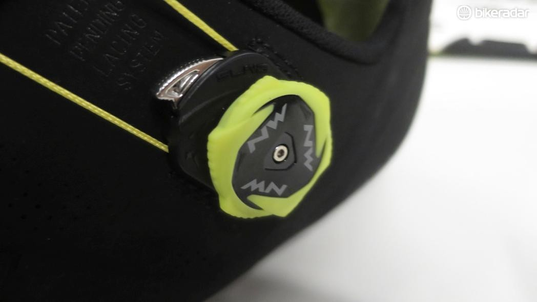 The RR's SLW2 dial is Northwave's own design