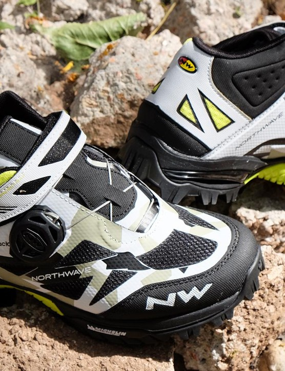 Gravity and enduro racer Cedric Gracia collaborated with Northwave to develop the Enduro Mid