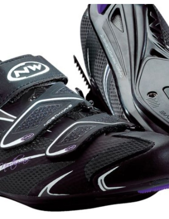 Carbon-reinforced soles on these Northwave shoes