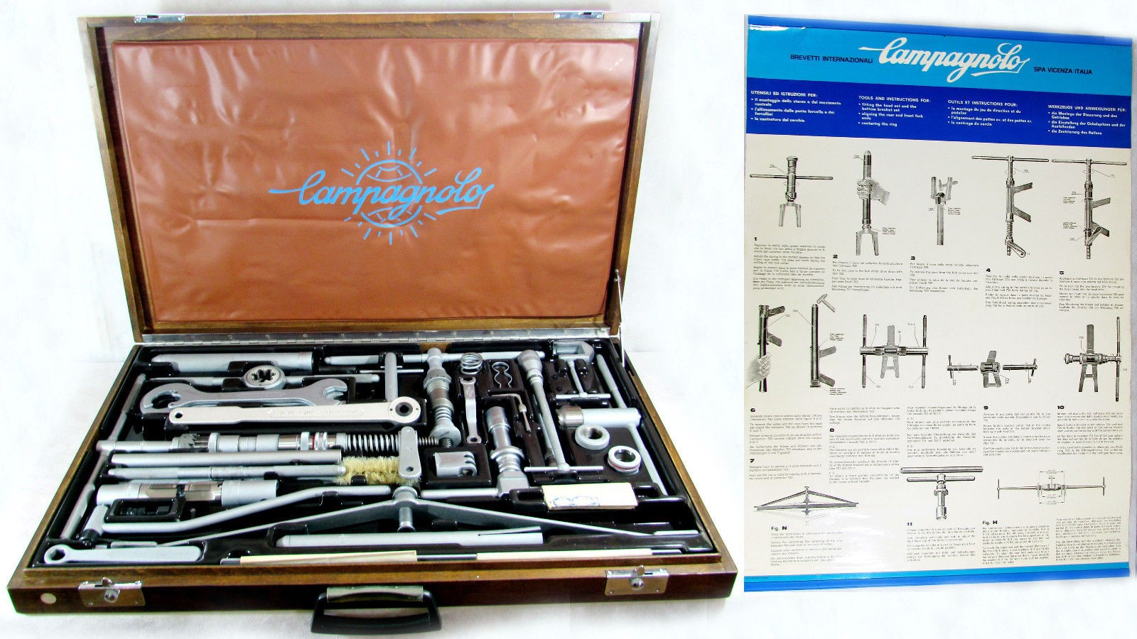 I love these Campagnolo tool kits