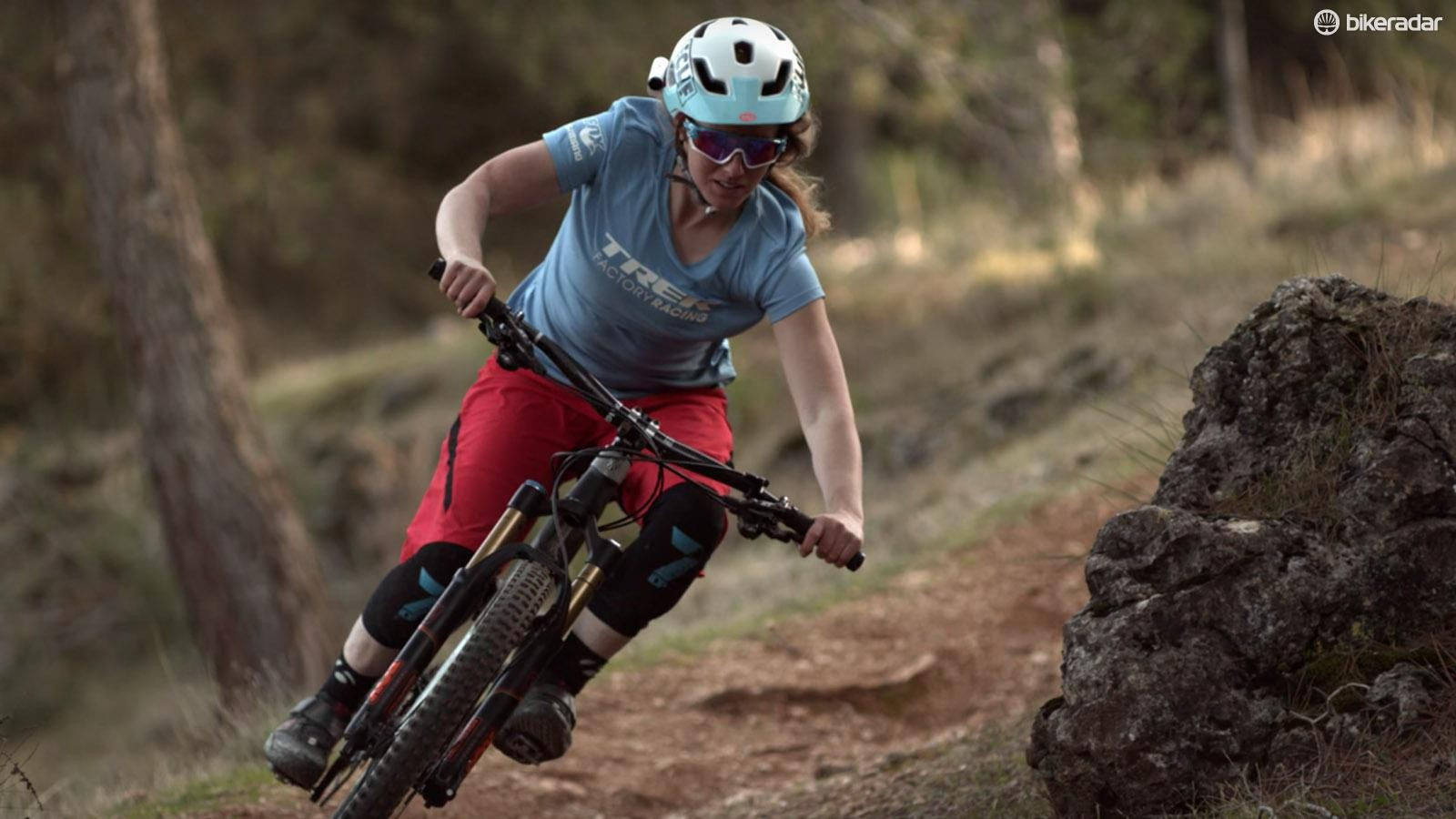 It's refreshing to see a film give talented female riders screen time