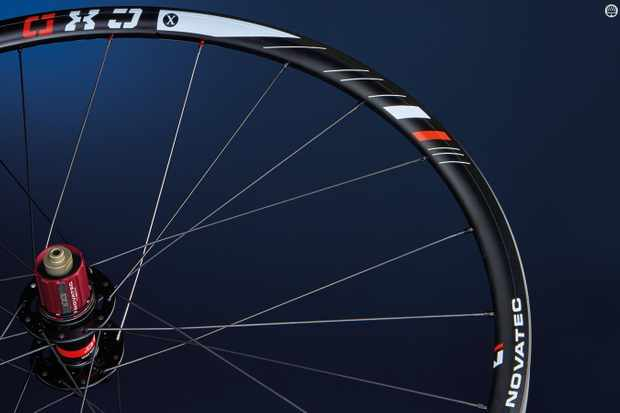 Novatec's CXD wheels took a test beating without flinching