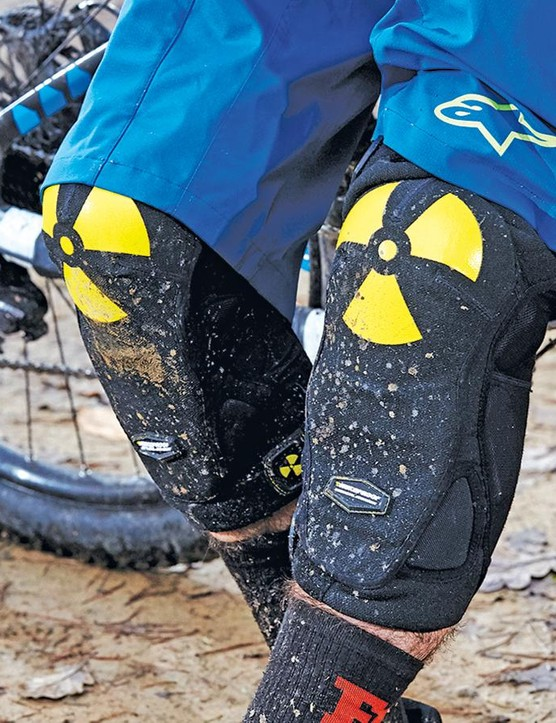 Nukeproof's Critical DH Pro knee pads are impressive well padded