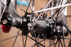 SRAM's Roam 30 wheels are narrow, flexy and rattly