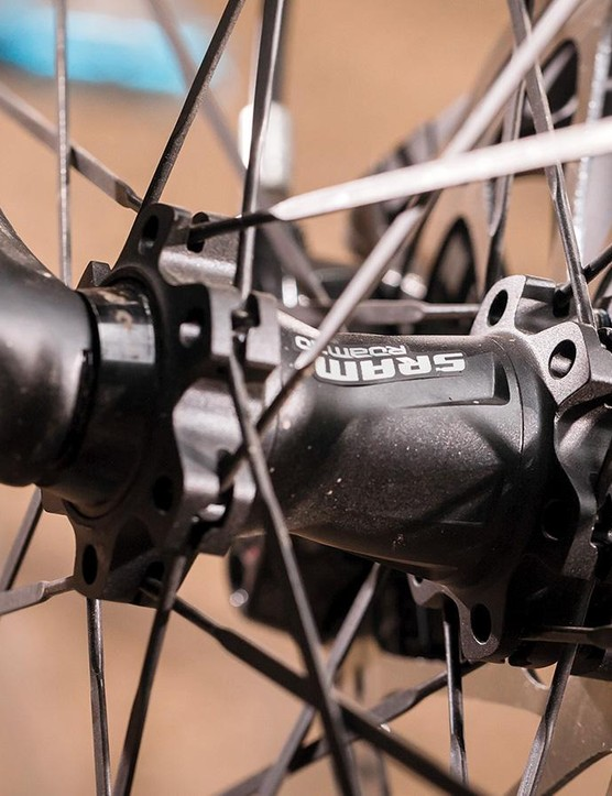 SRAM's Roam 30 wheels are narrow, flexy and rattly