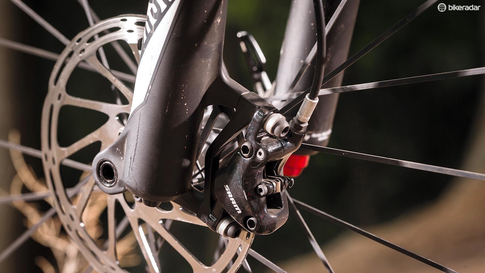 SRAM's budget DB5 brakes perform surprisingly well