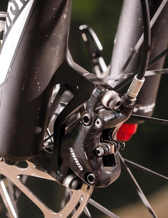 SRAM's budget DB5 brakes perform surprisingly well