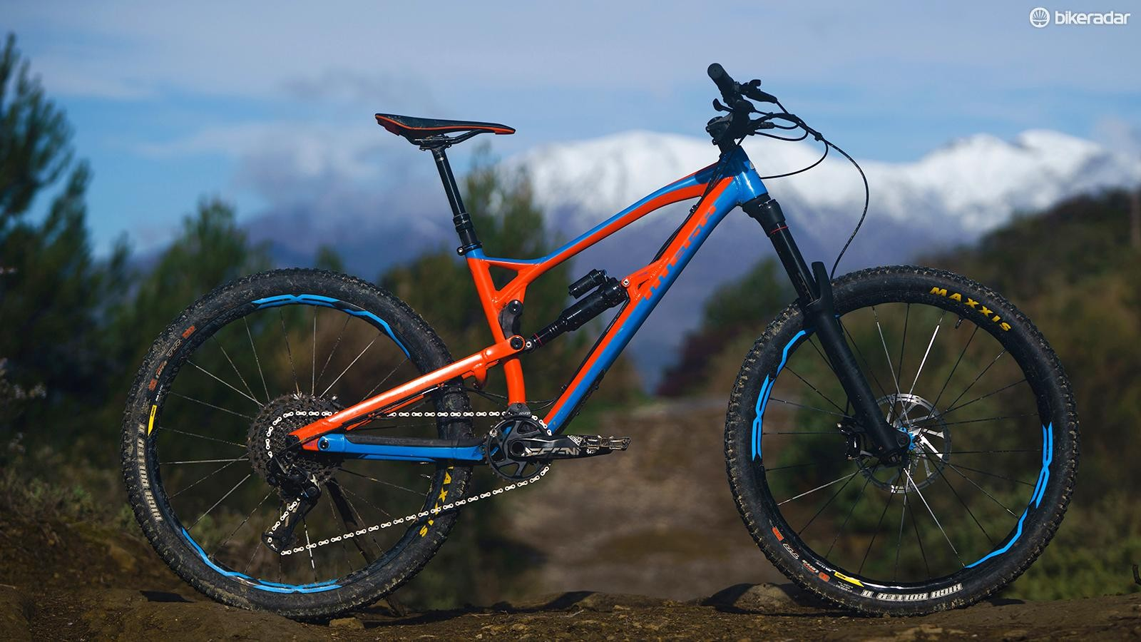 The Mega has been treated to some subtle but significant tweaks for 2018. The result is a seriously sorted bike that can be raced from the get-go without the need to change anything on it