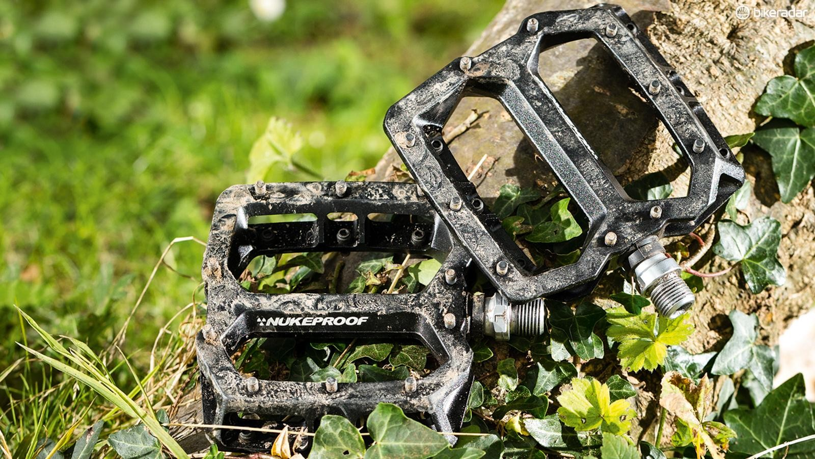Get some of the best performing flat pedals around