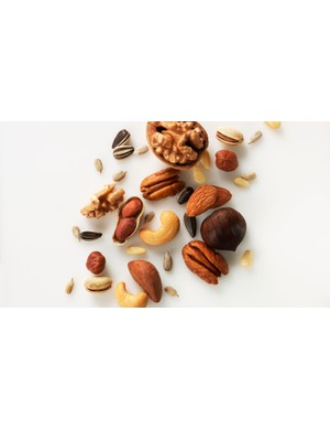 Reach for a handful of nuts when you want a quick snack
