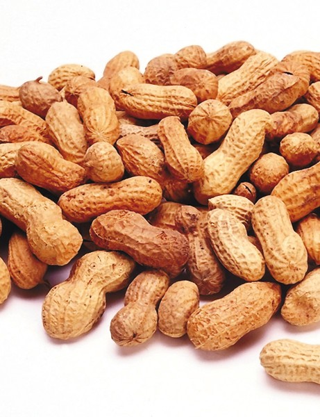 Peanuts score 20 on the glycaemic index, so they too are a medium GI food