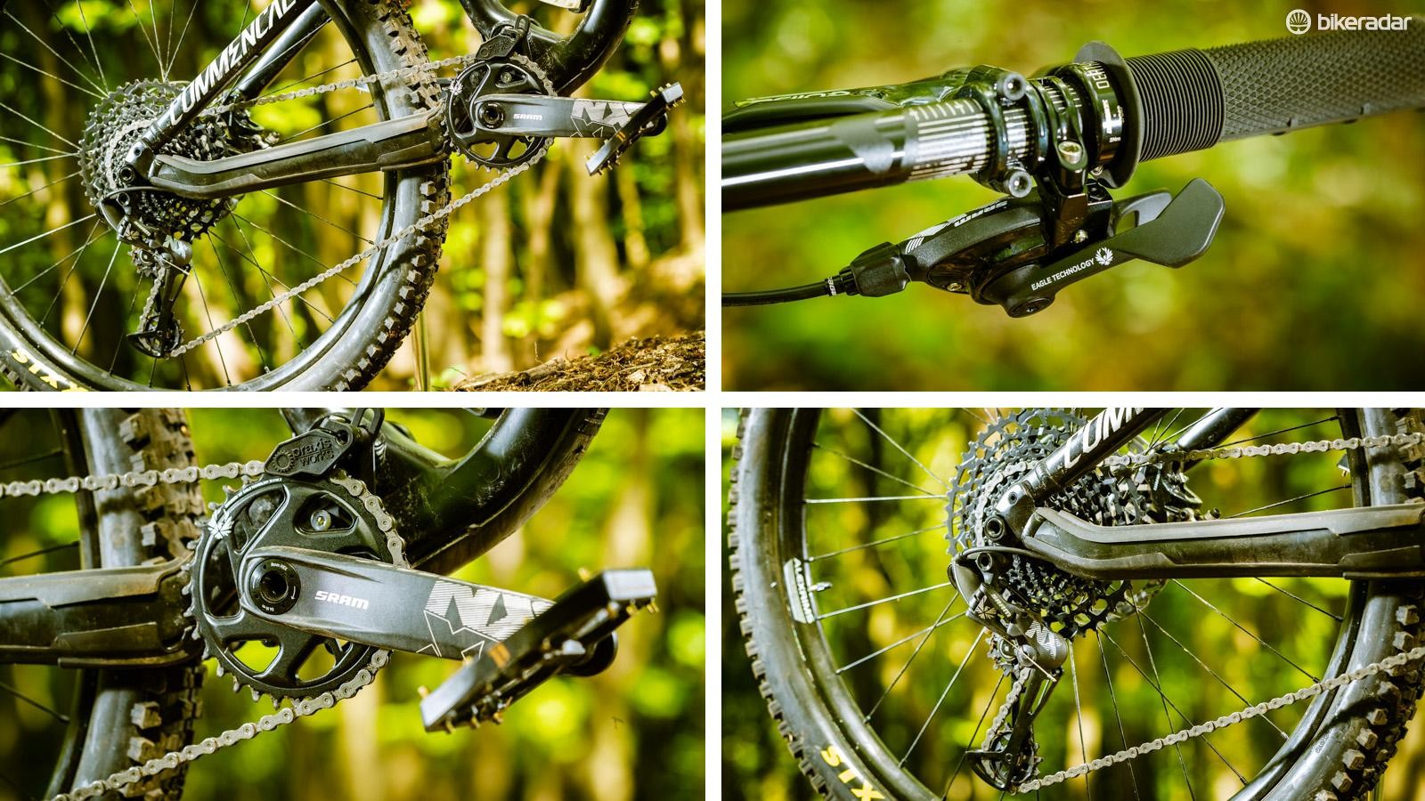 SRAM has brought its 12-speed Eagle technology to its entry-level NX groupset