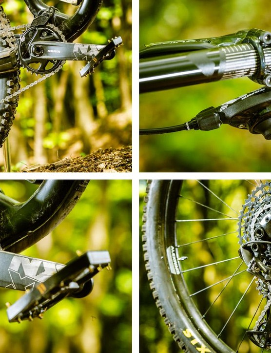 SRAM has brought its 12-speed Eagle technology to its entry-level NX groupset.